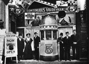 Grand Theatre in Buffalo NY circa 1900