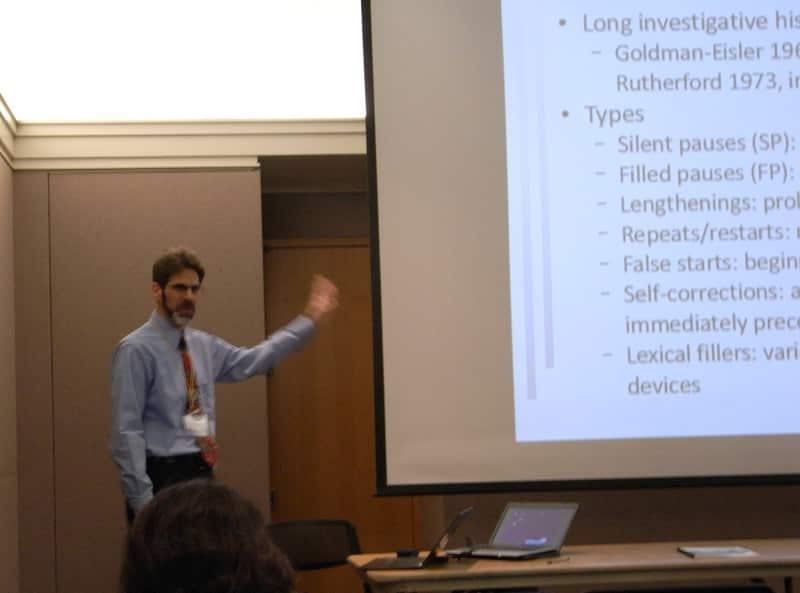 Ralph Rose at Second Language Research Forum 2012 (Pittsburgh)