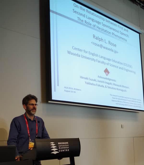 Ralph at AILA in Brisbane 2014